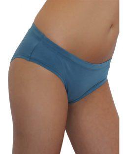 Denim blue hipster til dame fra Albero - økologisk bomull » Etiske & økologiske klær » Grønt Skift