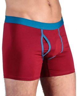 Rød boxer til herre fra Albero - økologisk bomull » Etiske & økologiske klær » Grønt Skift