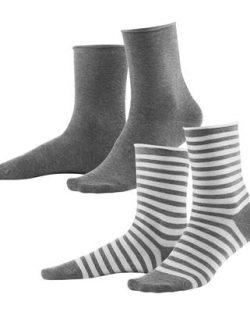 2 par sokker av økologisk bomull til dame fra Living Craft » Etiske & økologiske klær » Grønt Skift