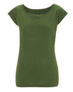 Leaf green T-skjorte til dame - 70 % bambusviskose, 30 % økologisk bomull » Etiske & økologiske klær » Grønt Skift
