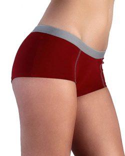 Rød boxer til dame fra Albero - økologisk bomull » Etiske & økologiske klær » Grønt Skift