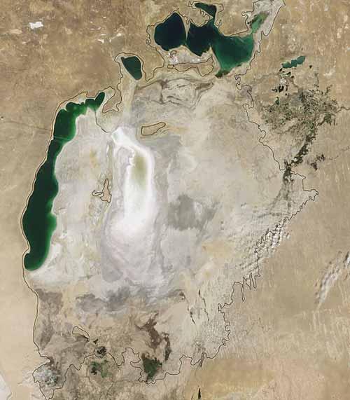 Aralsjøen etter : Grønt Skift