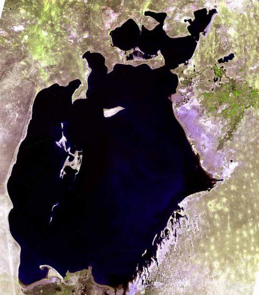 Aralsjøen før : Grønt Skift