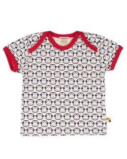 T-skjorte med marineblå apekatter til baby - 100 % økologisk bomull » Etiske & økologiske klær » Grønt Skift