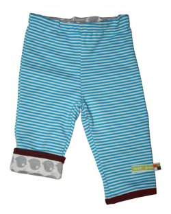 Blå bukse til baby som kan vrenges - 100 % økologisk bomull » Etiske & økologiske klær » Grønt Skift