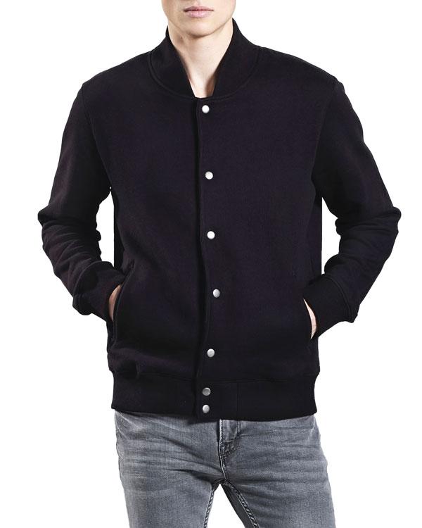 71137d89 Lett og fin jakke i svart - 100 % økologisk bomull » Grønt Skift