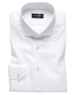 Hvit slim fit skjorte til herre fra Ernst Alexis - økologisk bomull » Etiske & økologiske klær » Grønt Skift