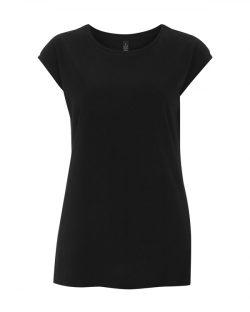 Sval t-skjorte i tencel til dame - passer godt til trening - 50 % Tencel, 50 % økologisk bomull » Etiske & økologiske klær » Grønt Skift