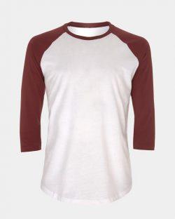 Unisex baseball t-skjorte fra Earth Positive - 100 % økologisk bomull » Etiske & økologiske klær » Grønt Skift