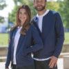 Mørkeblå jakke - 100 % økologisk bomull » Etiske & økologiske klær » Grønt Skift