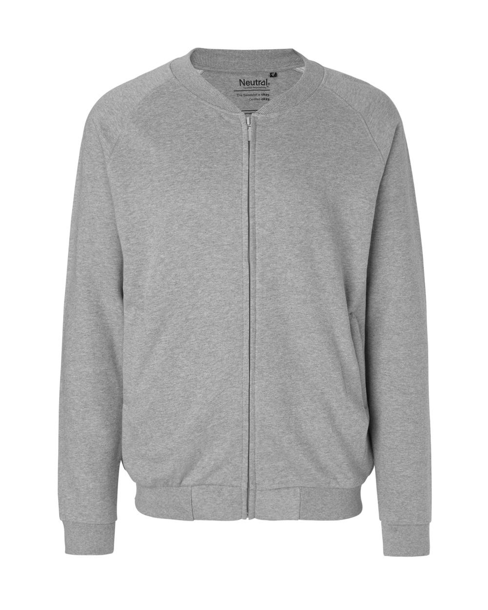 5c8a4a3b Grå jakke - 100 % økologisk bomull » Grønt Skift