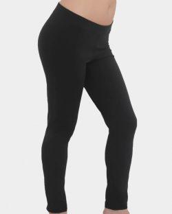 Svarte leggings til dame fra Albero - økologisk bomull » Etiske & økologiske klær » Grønt Skift