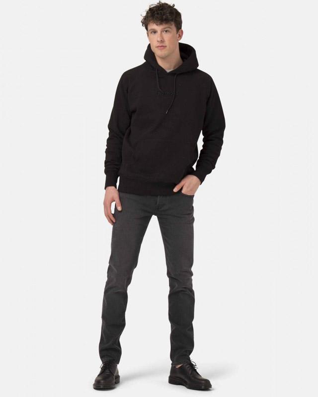 Slim Lassen - stone black jeans i resirkulert og økologisk bomull » Etiske & økologiske klær » Grønt Skift