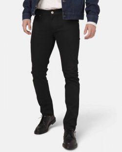 Slim Lassen - Dip Dry svart jeans i resirkulert og økologisk bomull » Etiske & økologiske klær » Grønt Skift