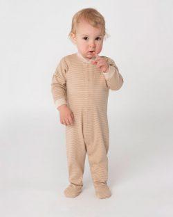 Pysjamas i mykt stoff til baby - 100 % økologisk bomull » Etiske & økologiske klær » Grønt Skift