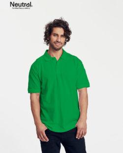 Grønn polo t-skjorte - 100 % økologisk bomull » Etiske & økologiske klær » Grønt Skift