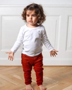 Hvit langermet trøye - 100 % økologisk bomull » Etiske & økologiske klær » Grønt Skift