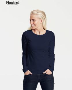 Mørkeblå trøye - 100 % økologisk bomull » Etiske & økologiske klær » Grønt Skift