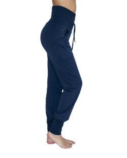 Mørkeblå yogabukse - økologisk bomull » Etiske & økologiske klær » Grønt Skift