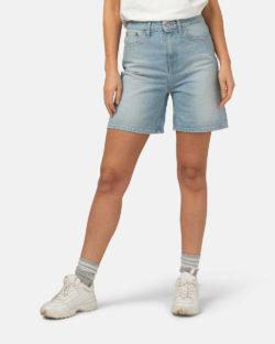 Beverly lysblå denim shorts - i resirkulert og økologisk bomull » Etiske & økologiske klær » Grønt Skift