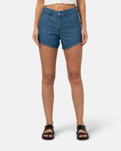 Ivy mellomblå denim shorts - i Tencel og BSI-sertifisert bomull » Etiske & økologiske klær » Grønt Skift