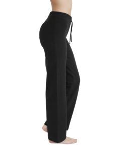 Svart bukse til yoga eller rolig aktivitet - økologisk bomull » Etiske & økologiske klær » Grønt Skift