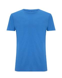 Sommerblå unisex t-skjorte i 70 % EcoVero™ viskose og 30 % økologisk bomull » Etiske & økologiske klær » Grønt Skift
