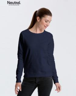 Mørkeblå collegegenser - 100 % økologisk bomull » Etiske & økologiske klær » Grønt Skift
