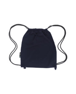 Mørkeblå gymbag - 100 % økologisk bomull » Etiske & økologiske klær » Grønt Skift