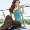 Lys grå sommerbukse i 100 % hamp » Etiske & økologiske klær » Grønt Skift