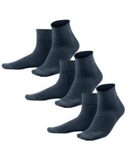 3 pack mørkeblå sokker uten plaststoffer » Etiske & økologiske klær » Grønt Skift