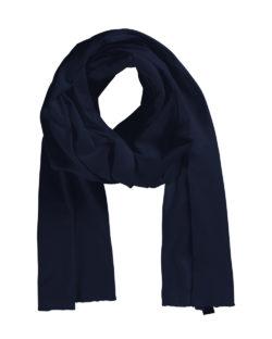 Mørkeblått skjerf - 100 % økologisk bomull » Etiske & økologiske klær » Grønt Skift