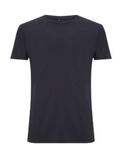 Mørkeblå t-skjorte i 70 % EcoVero™ viskose og 30 % økologisk bomull » Etiske & økologiske klær » Grønt Skift