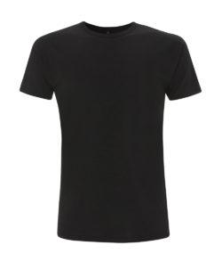 Svart t-skjorte i 70 % bambusviskose og 30 % økologisk bomull » Etiske & økologiske klær » Grønt Skift