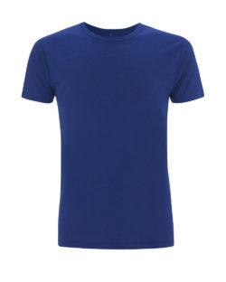 Midnatt blå t-skjorte i 70 % bambusviskose og 30 % økologisk bomull » Etiske & økologiske klær » Grønt Skift