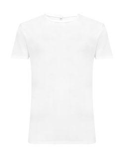 Hvit t-skjorte i 70 % EcoVero™ viskose og 30 % økologisk bomull » Etiske & økologiske klær » Grønt Skift