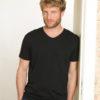 2 pack svarte t-skjorter i 100 % økologisk bomull 2