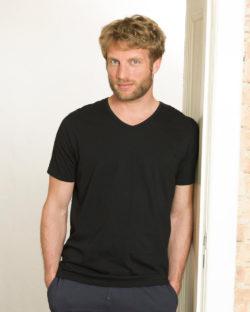 2 pack svarte t-skjorter i 100 % økologisk bomull » Etiske & økologiske klær » Grønt Skift