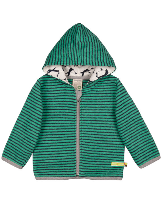 3045-ja-vt grønn fleece jakke 1