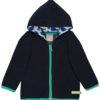 3063-ul-vt mørk blå fleece jakke
