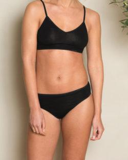 Clarissa svart truse - 95 % økologisk bomull og 5 % elastan » Etiske & økologiske klær » Grønt Skift