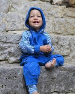 Blå Nicky bukse 100 % økologisk bomull » Etiske & økologiske klær » Grønt Skift