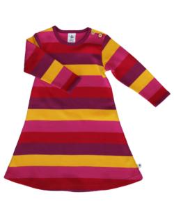 Langermet stripete kjole i 100 % økologisk bomull » Etiske & økologiske klær » Grønt Skift