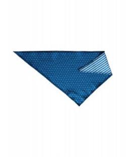 Blå bandana-smikke i 100 % økologisk bomull » Etiske & økologiske klær » Grønt Skift