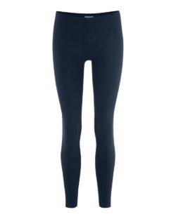 Mørkeblå Annedore leggings - økologisk bomull » Etiske & økologiske klær » Grønt Skift
