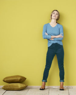 Petrolblå bukse - økologisk bomull » Etiske & økologiske klær » Grønt Skift