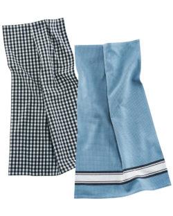 2 pack kjøkkenhåndklær i 100 % økologisk bomull » Etiske & økologiske klær » Grønt Skift