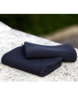 Navy kjøkkenklut i 2 forskjellige mønstre - 100 % økologisk bomull » Etiske & økologiske klær » Grønt Skift