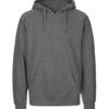 Mørkegrå hettegenser - 100 % økologisk bomull » Etiske & økologiske klær » Grønt Skift