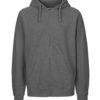 Mørkegrå hettejakke - 100 % økologisk bomull » Etiske & økologiske klær » Grønt Skift